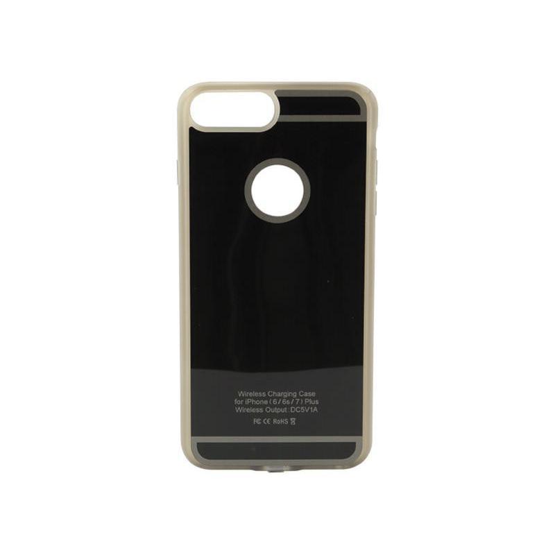ACV Inbay Inductief Cover + Ontvanger iPhone 6+/7+ (Zwart)