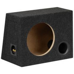 BASSER 10'' inch (25 CM) Universele Gepoorte Subwooferbehuizing (Ronde Basspoort)
