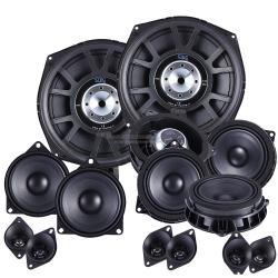 STEG BMXPACK (Compleet Audio Systeem BMW X1, X3, X5, X6 Serie)