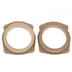 ACV MDF Speakerringen set Fiat/Lancia