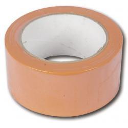 BSL Afplakband PVC Oranje 50 MM