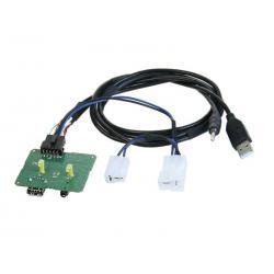 ACV AUX/USB Ombouwset SsangYong Korando
