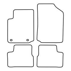 BASSER Pasklare 8'' inch Subwooferbehuizing Ford Focus Wagon MK4 (2007 - 2014)