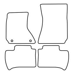 BASSER Pasklare 10'' inch Subwooferbehuizing Seat Leon Sedan (1999 - 2005)
