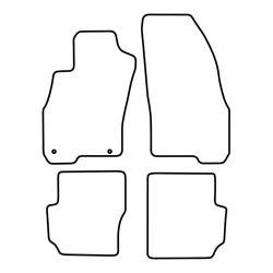 BASSER Pasklare 8'' inch Subwooferbehuizing Volkswagen Sharan 1 (1995 - 2010)