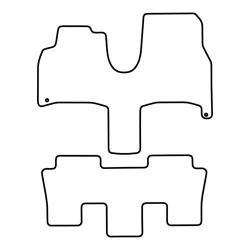 BASSER Pasklare 10'' inch Subwooferbehuizing Volkswagen Toureg (2002 - 2010) TYPE B