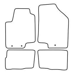 Jehnert VW T5 Transporter / Multivan / Caravelle Deurboards (Hoogglans Zwart) DEMO