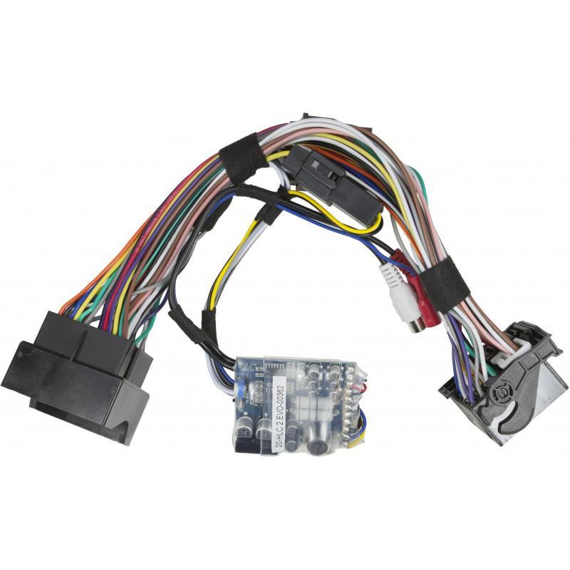 AUDIO SYSTEM HLC-2 EVO High-Low-Level-Adapter-Converter Autoradio Adapter