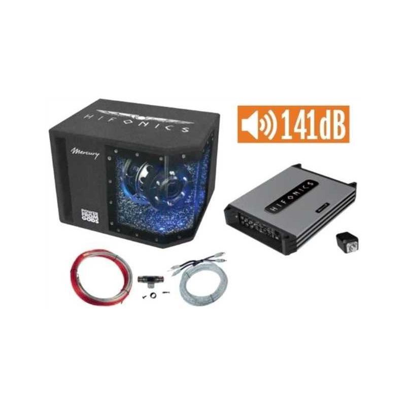 Hifonics MBP1000.4 Subwooferpakket (141dB)