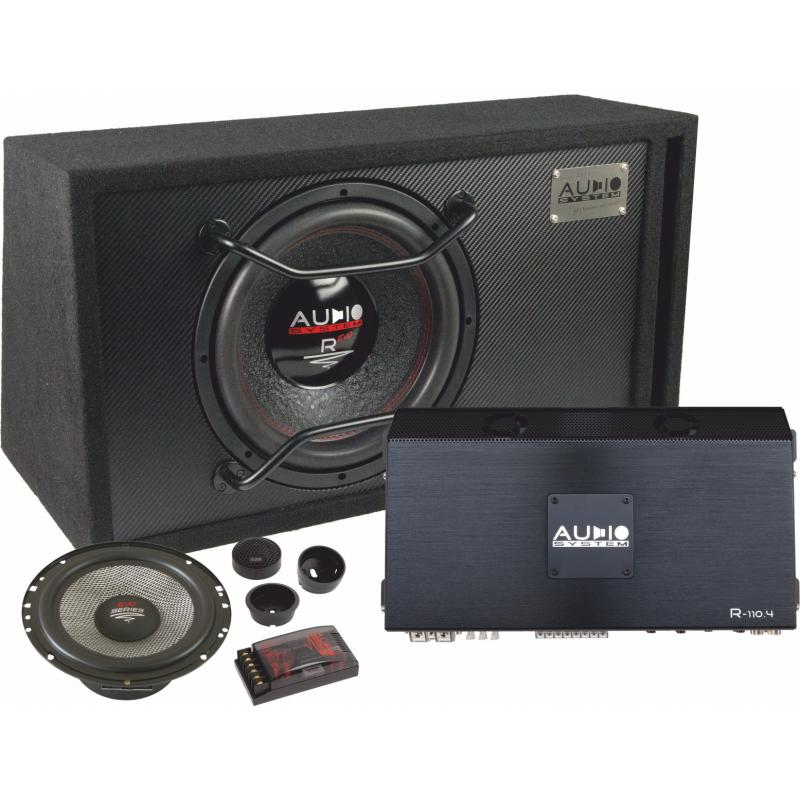 Audio System R Series EVO Pakket (12 Inch SUB + 16,5 CM Speakerset)