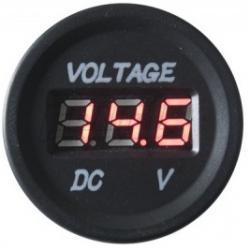 4Connect Digitale Voltmeter Rond