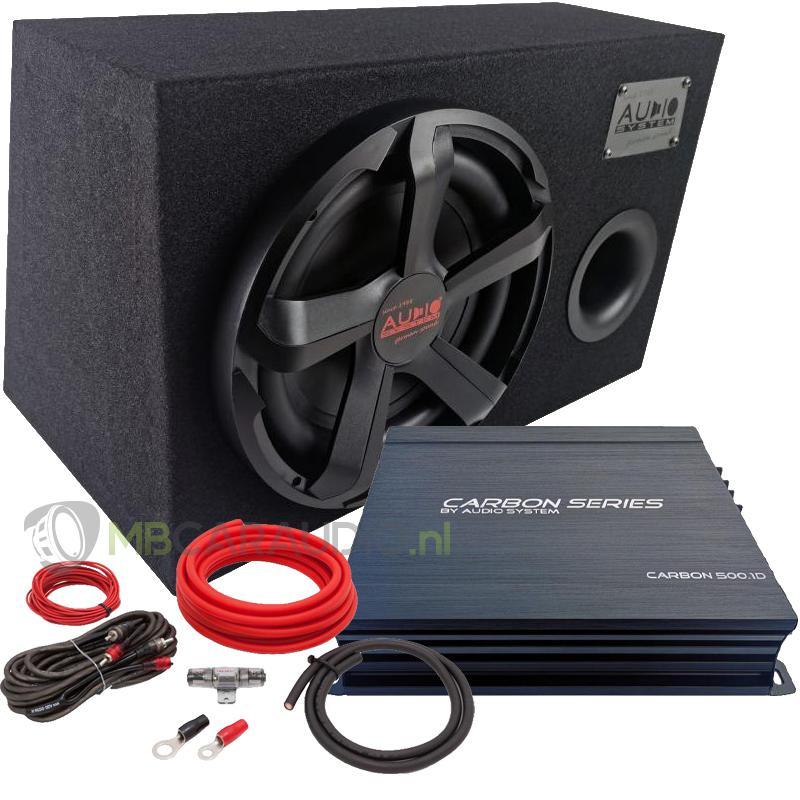 Audio System Carbon 12 Subwooferpakket