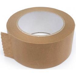 BSL Afplaktape Papier Bruin 50 MM