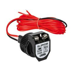 Lampa 12/24 Volt Opbouwsocket All Weather