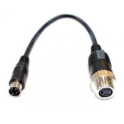 Carvision Verloopconnector 4 Polige Mini DIN