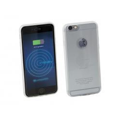 ACV Inbay Inductief Cover + Ontvanger iPhone 6/6S (Zilver/Transparant)