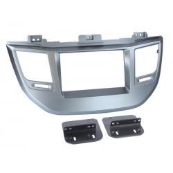 ACV 2DIN inbouwframe Hyundai Tucson Zilver (Vanaf 2015)