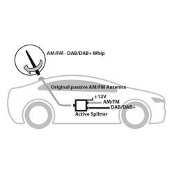 Calearo Actieve Signaalsplitter (PRO)